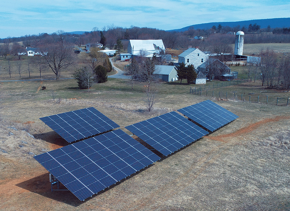 Milestone Solar agricultural installationgenerates more power than five average homes use in a year